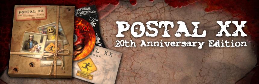 POSTAL XX Anniversary Pre-Order
