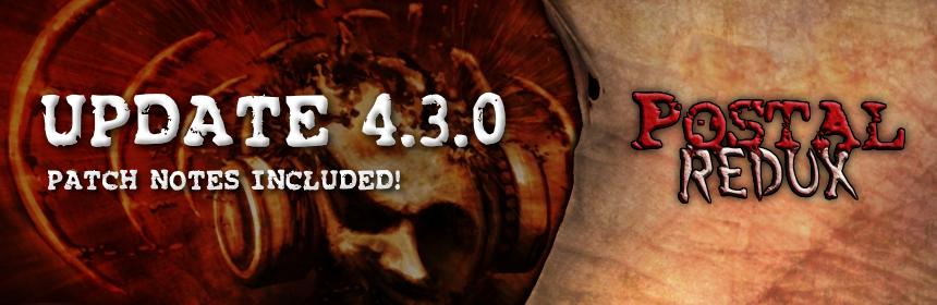 POSTAL Redux 4.3.0 Update on Steam