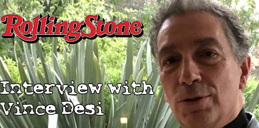 Mi scuzi, Papa Desi did an interview with Rolling Stone Italy…fuggetdaboutit!!