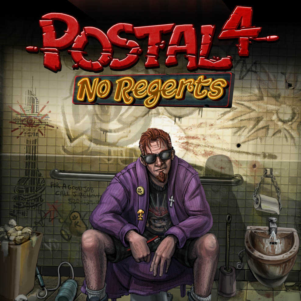 Postal 4 No Regerts Early Access Steam Key Running With Scissors
