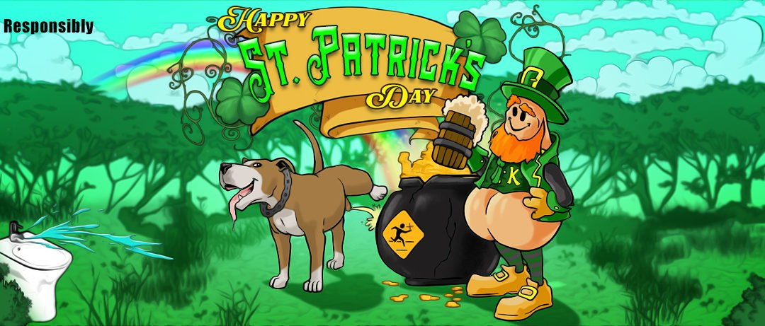 Happy St. Patrick's Day from Everyone at Running With Scissors!