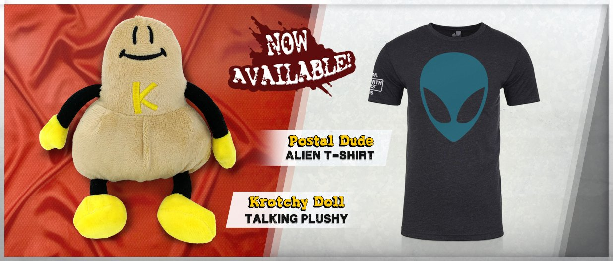 Talking Krotchy Dolls And The Postal Dude S Classic Alien Head T