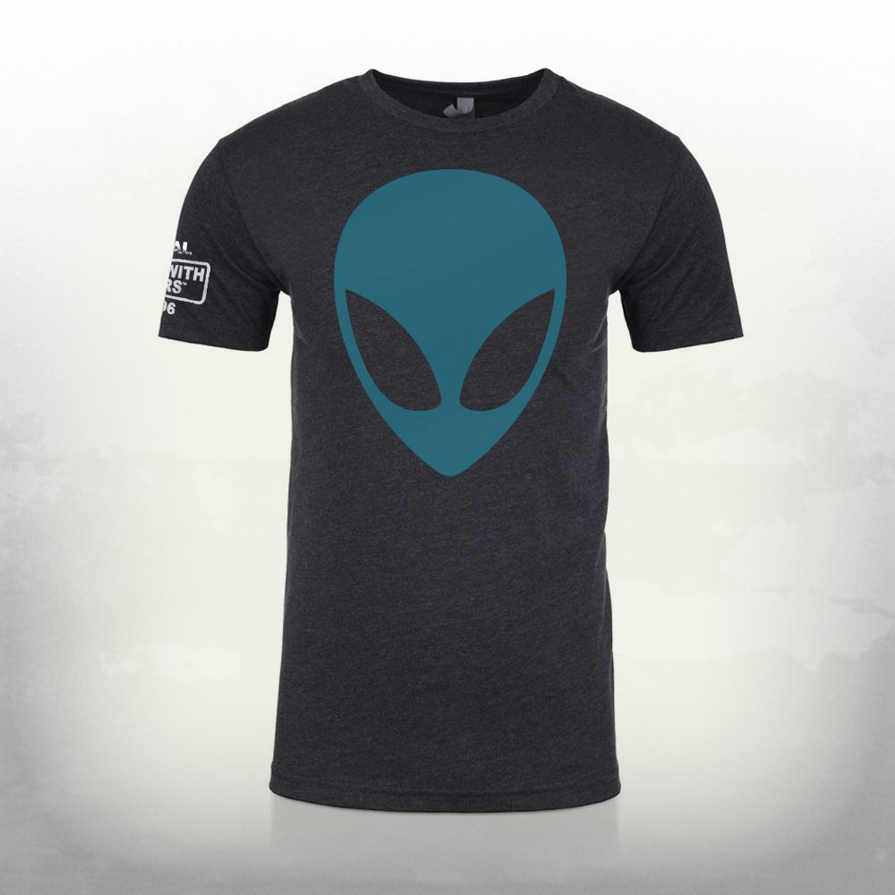 Postal Dude Alien Head T Shirt Running With Scissors