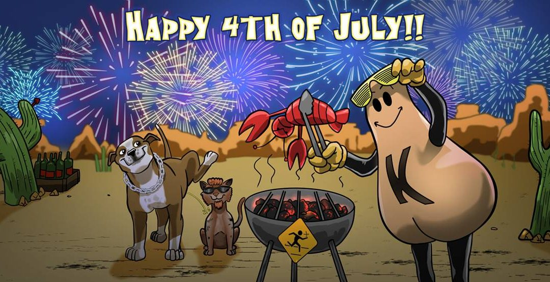 Happy 4th of July from everyone at Running With Scissors