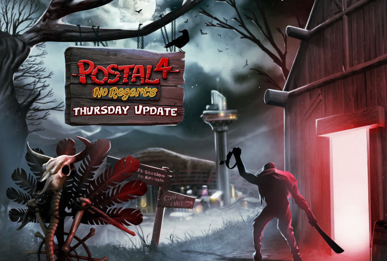 """POSTAL 4: No Regerts Gets HUGE Content Drop with """"Thursday"""" Early Access Update"""